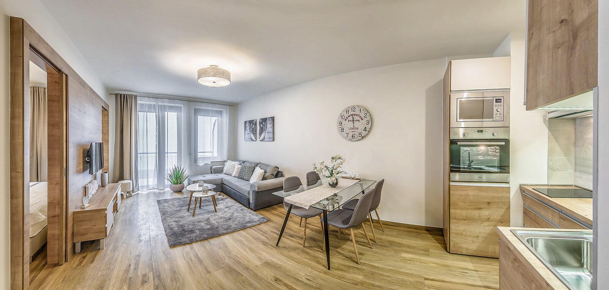 One bedroom Standard 2 - Art Homes Budapest