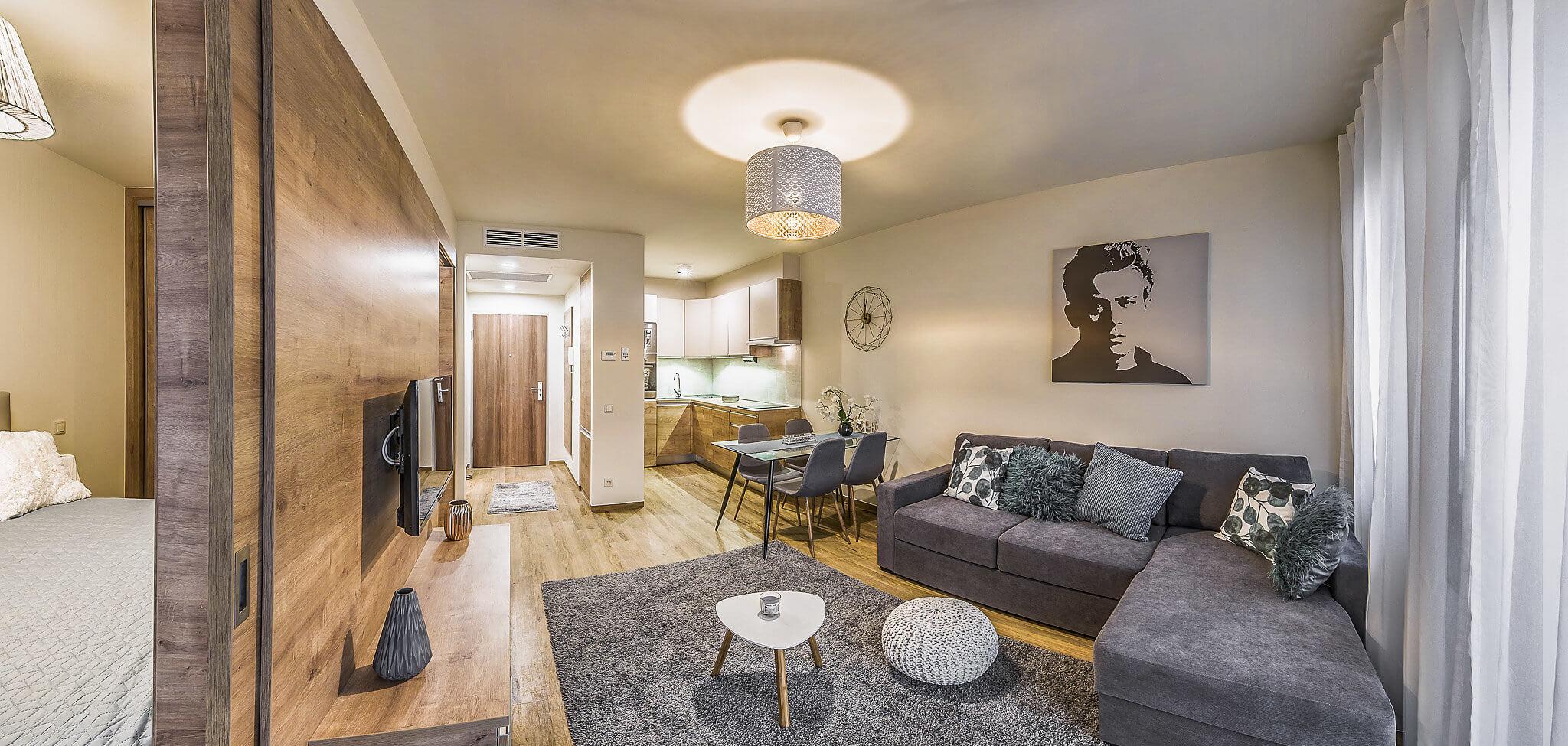 One bedroom Standard 3 - Art Homes Budapest